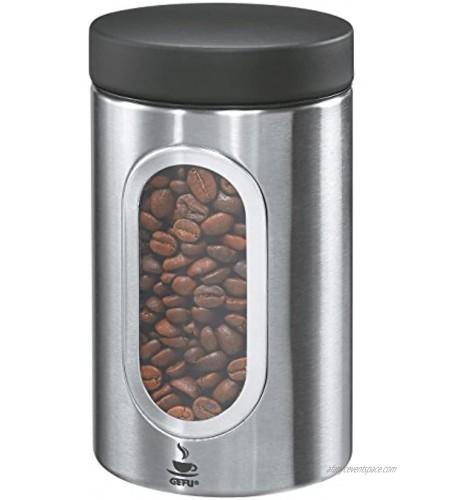 Gefu Coffee Tin Piero Storage Box Aroma Protection Pod- Capsule Box 250 g 16350