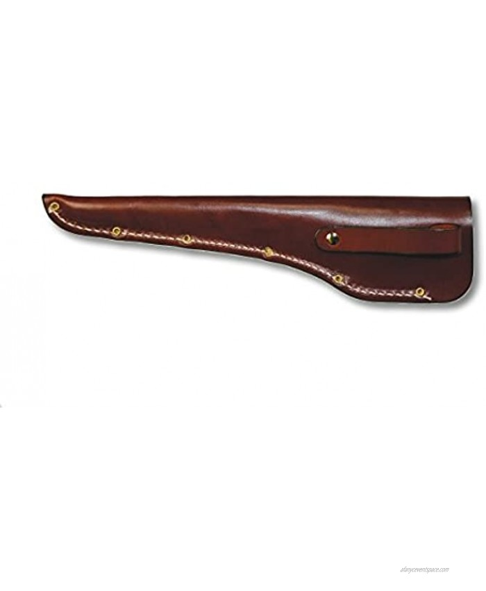 Victorinox Brown Leather Knife Sheath Accepts 6-Inch Blade 6 Inch