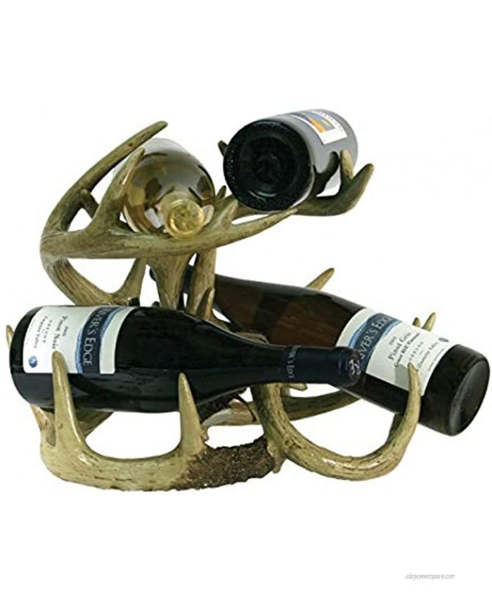 River's Edge Products Wine Rack Deer Antler