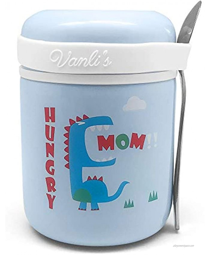 Soup Thermos For Kids And Adults. Kids Food Thermos For Hot Food. Stainless Steel Insulated Lunch Containers. Great For School Office Outdoors And Travel