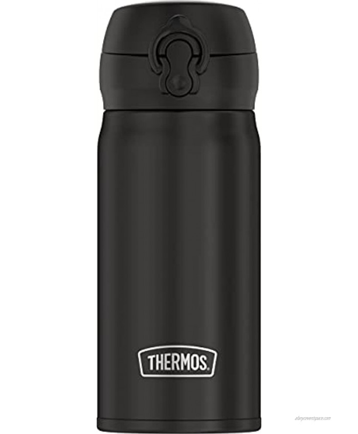THERMOS 12oz Stainless Steel Direct Drink Bottle Black